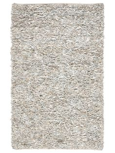 Hand-Knotted Leather Rug  RugHome #Rugs