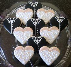 Cupcakes para recién casados
