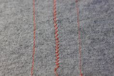 How to Sew Knit Fabrics: Sewing With Jersey 101 | Pretty Prudent