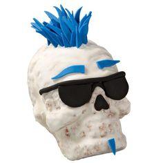 skulls, wilton idea, dude skull, minis, skeleton, cakescupcak idea, mini cakes, skull mini