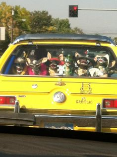 Can you imagine pulling up behind this car?