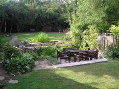 recessed favorit place, societi garden, area garden, landscap architecturegarden, garden camp