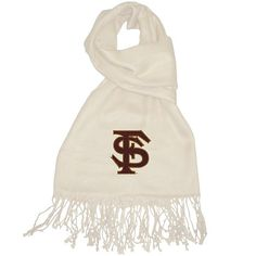 Florida State Seminoles Ivory Pashmina. The perfect accessory for fall gamedays! (Other teams available)
