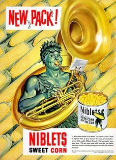 1950 ... green giant tuba! by x-ray delta one, via Flickr