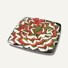Caprese Salad Appetizer Tray
