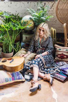 somerollingstone:  Anja Konstantinvoa byGraham DunnforSpell & the Gypsy CollectiveAugust/September 2014