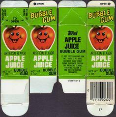 bubble juice gum