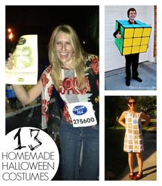 Here are 13 really awesome Halloween costumes to make !