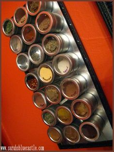 Magnetic spice jars from Ikea - looking forward to getting some of these!