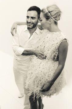 Kate Moss & Marc Jacobs.