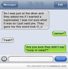 Funny text - Super salad - http://www.jokideo.com/