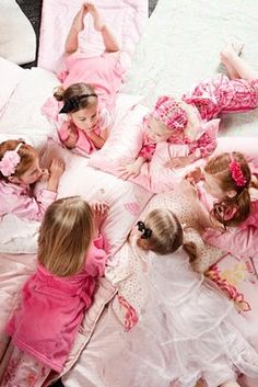 pajama glam slumber party theme ideas