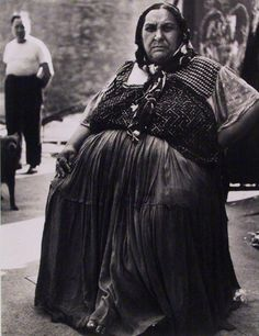 Lisette Model, The Gypsy Queen, Lower East Side, New York, 1940