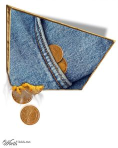 Money burns a hole in your pocket