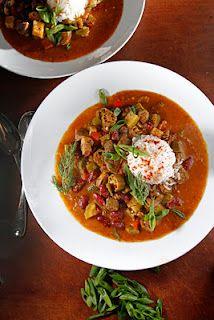 stew, benefici thing, savori food, chubbi vegetarian, veganvegetarian recip, meatless soup, vegetarian gumbo, mardi gras, chili