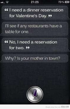 Sassy Siri.