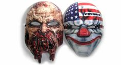 Custom Character Masks by Marketing Instincts! Marketing Instincts creates the Coolest Swag! Payday 2, Dying Light, WB Games cutom character masks www.marketinginstincts.com hello@marketinginstincts.com #marketinginstincts #coolestswag