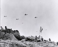 #DDAY The Normandy Invasion. Gliders fly supplies to Soldiers fighting on Utah Beach during the Allied Invasion of Europe, D-Day, June 6, 1944. www.army.mil/d-day