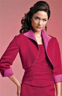3/4-length Sleeve Satin #Bolero & #Shawls Style Code: 06798 $34