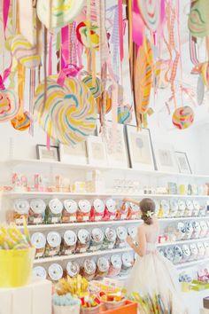 lollipop ceiling display {elisabeth millay}