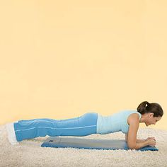 5 easy moves, 3 times a week, lose that belly!