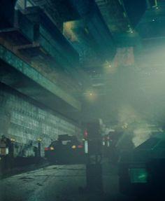 Blade Runner - LA by night