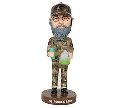 Duck Dynasty Character Bobblehead - Si   Need different bobble heads for different groups!