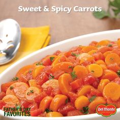 Sweet & Spicy carrots pack a punch! http://springpad.com/#!/Del_Monte ...