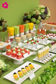Buffet de frutas en tu boda. #bodas #catering
