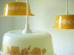Pyrex chandelier