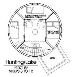 guesthouse Grain Bin Cabin Plan