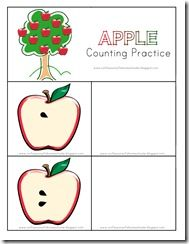 Preschool Apple Unit
