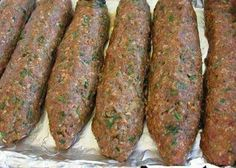 Kofte - Turkish Meatballs from Food.com:   I learnt to cook rustic dishes from Cyprus, (which I still make today).   Here is my ex MIL's recipe for Kofte which I serve in pita bread and a salad.