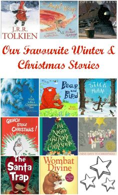 "Favourite Christmas & Winter Books from around the World. Discover classics and quirky ""new"" books. via www.lifeatthezoo.com"