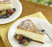 Ile de France Goat and Cream Cheesecake
