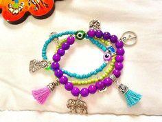 SALE YOGA BRACELET Meditation bracelet Yoga Jewelry by Nezihe1
