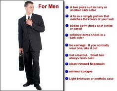 Great guide for men...