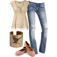 jean, summer styles, boot, bird cuff, cloth, bracelets, outfit, birds, bird purs
