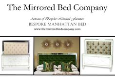 Maybe a MANHATTAN MIRRORED BED from The Mirrored Bed Company is just what you are looking for? Beds built around your dreams... contact us now to help us make yours!