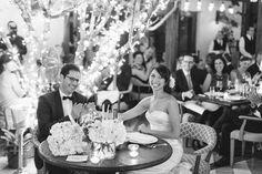 A Garden Wedding at the SOHO Beach House, Beth + Yoav