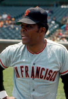 Willie Mays, San Francisco Giants. One of the best players in baseball history !!!