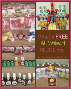 What's FREE At Walmart PLUS Linky