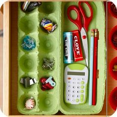 15 Ways to Repurpose Items You Already Have for Organizing :: Money Saving Mom®