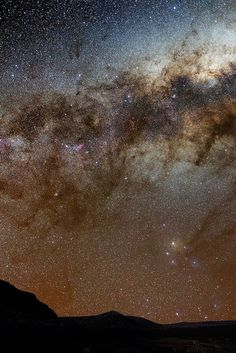 So Many Things Up There  The brightest part of the galaxy between Scorpius and Sagitarius. | Flickr - Luis Argerich