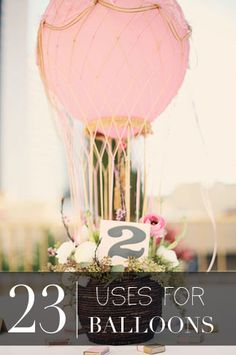 23 Balloon DIYs