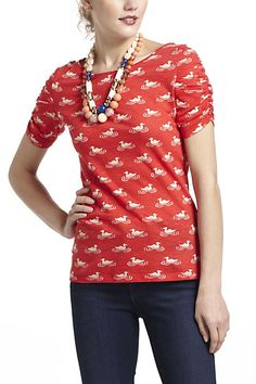 Here & There Tee, Animals #anthropologie  Fall 2012