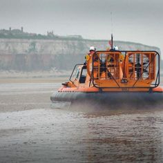 RNLI hovercraft in action!