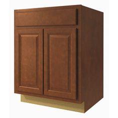 Kitchen classics cheyenne 18 in w x 35 in h x d for Cheyenne saddle kitchen cabinets