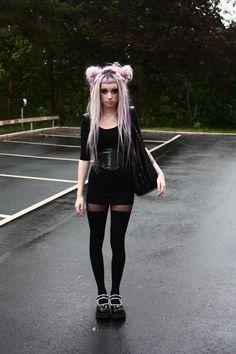 #Goth girl Angelica Murderotic. too cute.