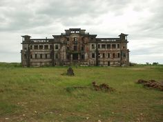 The abandoned resort of Bokor mountain, Cambodia